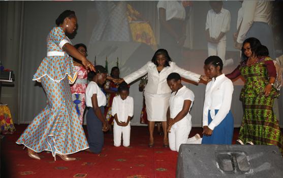 Moments de prières sur un échantillon des générations futures